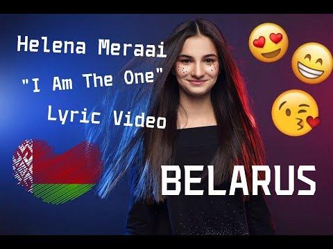 "Helena Meraai - ""Ya samaya""| Belarus JESC 2017 (Lyric Video)"