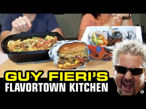 Guy fieri's flavortown kitchen has its own app for placing delivery orders, available on both itunes and the google play store, and the. Guy Fieri S Flavortown Kitchen Is It That Bad Flavortown