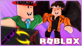 Murder Mystery 2 Betting | RARE LEGENDARY KNIFE & GUN BET! | Roblox