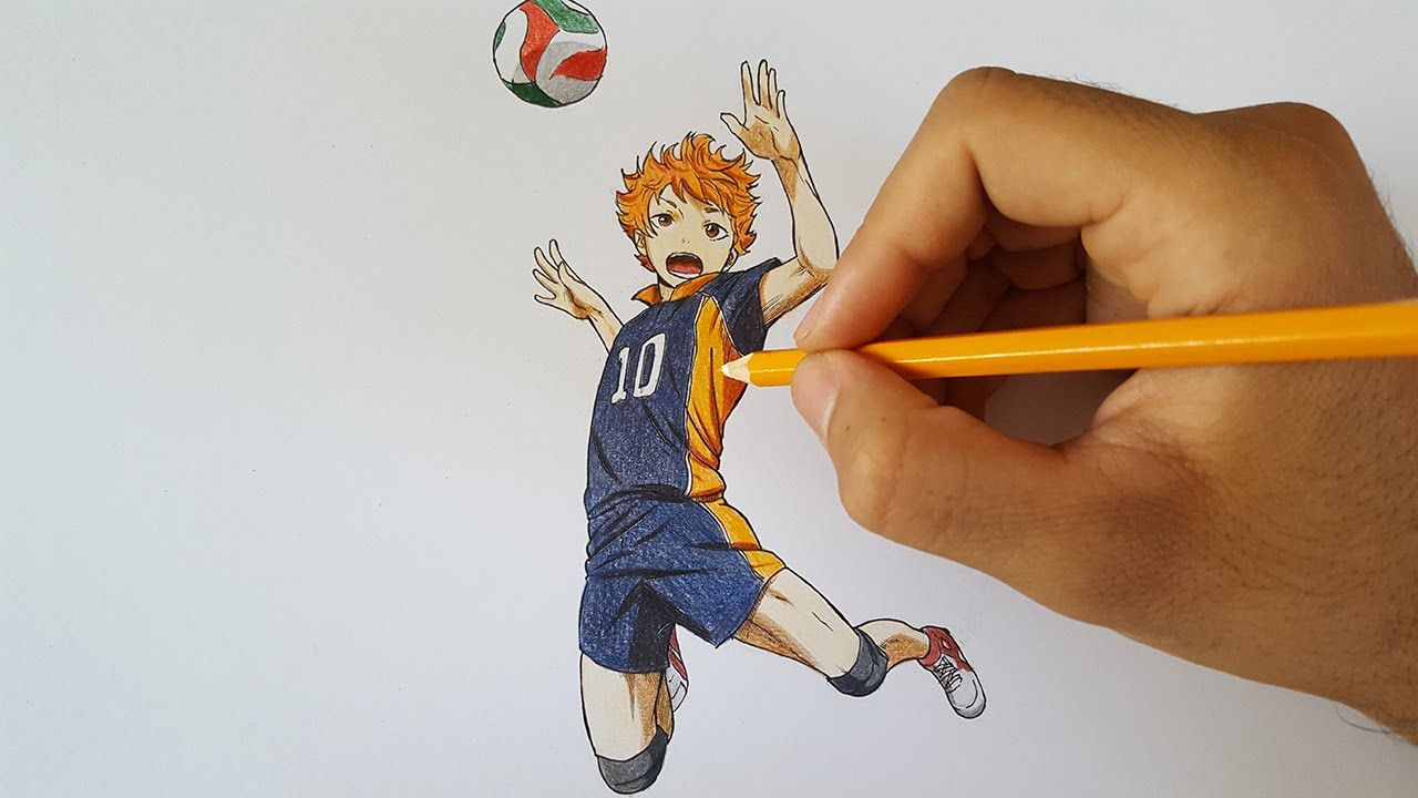 how to draw a a crow from haikyuu