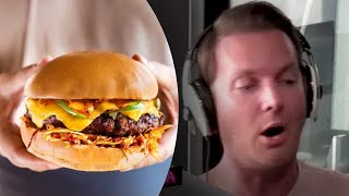 Ring Of Fire Burger Challenge (SUPER Hot Burger With Carolina Reaper Chilli!)