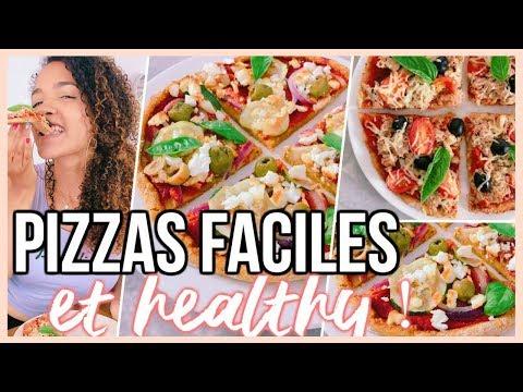 recettes-de-pizzas-healthy-&-faciles-!-😍🍕