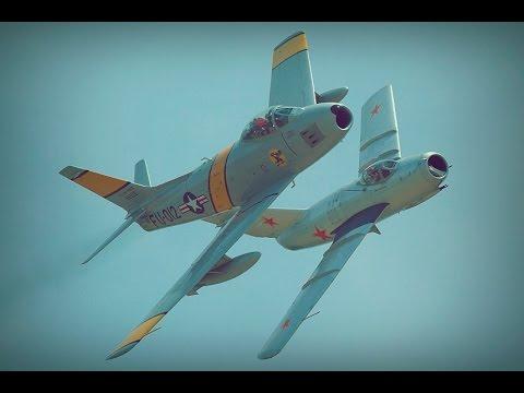 F-86A vs MiG-15