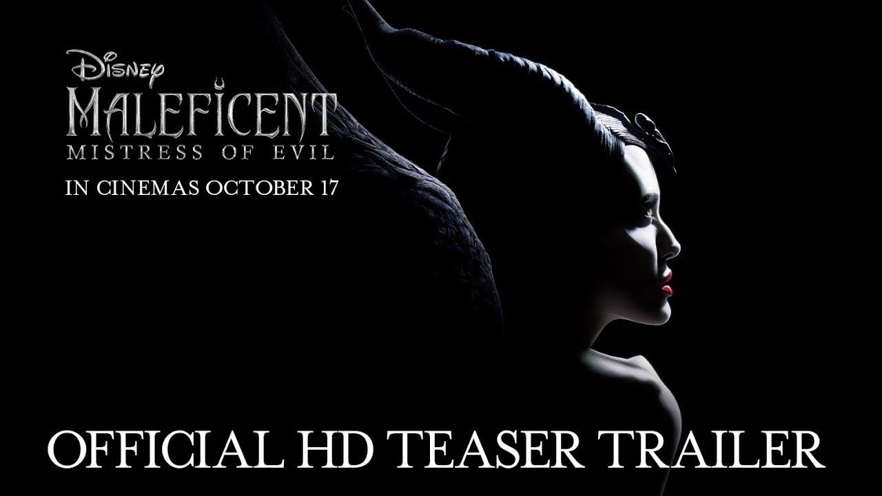 Disney S Maleficent Mistress Of Evil Official Hd Teaser Trailer In Cinemas October 17 2019