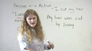 English Grammar – Easy Introduction to Passive