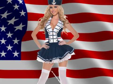 Sexy Navy Girl Halloween Costumes