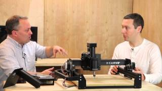 Zach Kaplan And Bart Dring Introduce X-carve 3d Carving Machine By Inventables