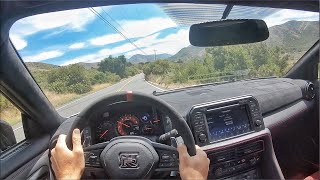 2020 Nissan GT-R Nismo POV Canyon Drive (3D Audio)(ASMR)