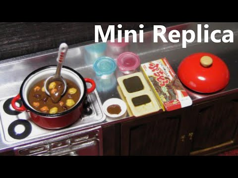 Re-Ment collectables #2 – Cooking, Mom's kitchen