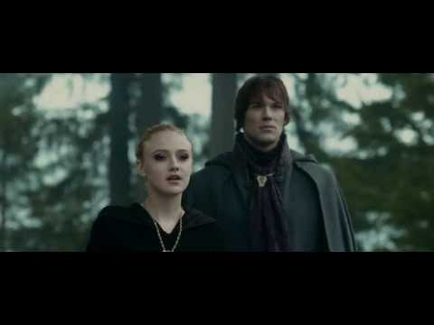 Eclipse - Jacob gets hurt and Volturi show up