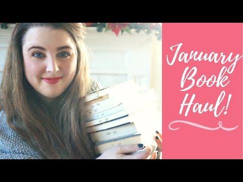 JANUARY BOOK HAUL || 2018