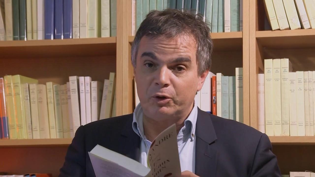 Lecture d'Alexandre JARDIN pour son nouveau roman Les ...