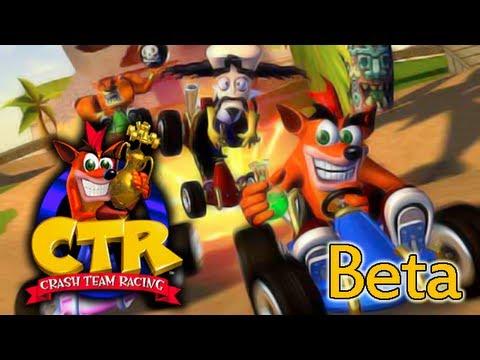 crash team racing beta youtube