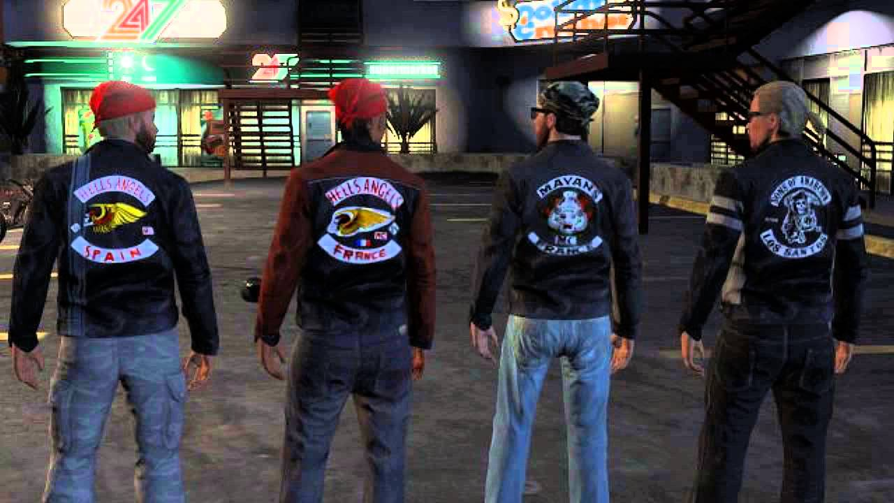sons of anarchy mc gta v youtube. Black Bedroom Furniture Sets. Home Design Ideas