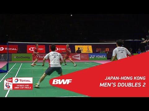Thomas Cup | MD2 | INOUE/KANEKO (JPN) vs MAK/TANG (HKG) | BWF 2018