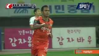 2015 K리그 챌린지 37R 강원FC vs 수원FC 하이라이트