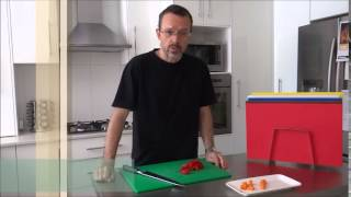 Video Editorial / Kitchen Safety & Hygiene - Cutting Boards