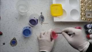 Epoksi (reçine) ile Takı - Magnet Yapımı