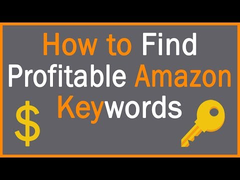 find amazon keywords