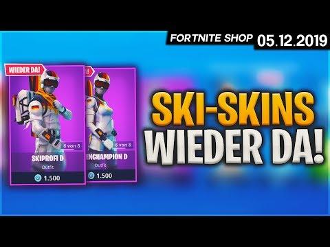 FORTNITE SHOP vom 5.12 - 🎿 Ski-Skins! 🛒 Fortnite Daily Item Shop von heute: 05 Dezember 2019 | Detu
