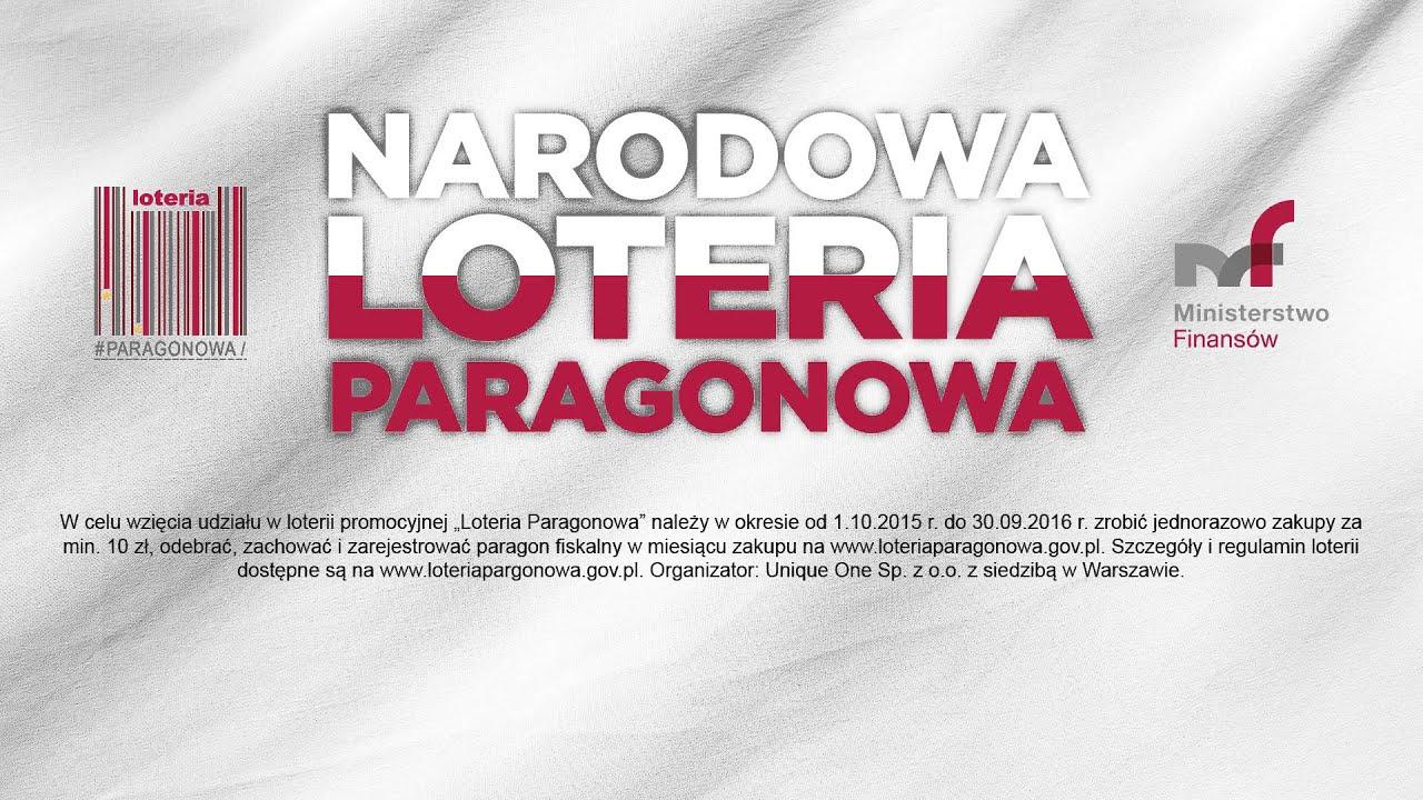 Narodowo Loteria Paragonowa - spot radiowy