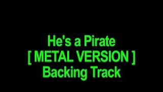 BACKING TRACK - Pirates of the Caribbean - MAIN THEME [ Guitar ]