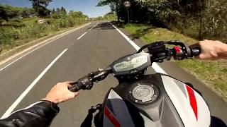 2019 Yamaha MT-07 / Akrapovic Full Exhaust / Walkaround and Quick Ride