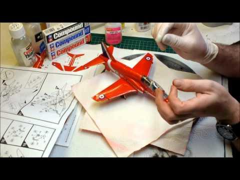 Airfix BAe Hawk T1 Trainer Red Arrows Video Build Part.9