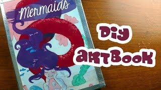 How to Make an Art Book ~ Kaatydid Art