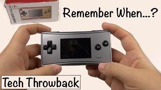 """""""Tech Throwback"""": Gameboy Micro (Episode 1)"""