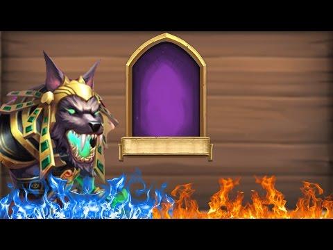 Castle Clash : Rolling 10k Gems For New Hero Anibus