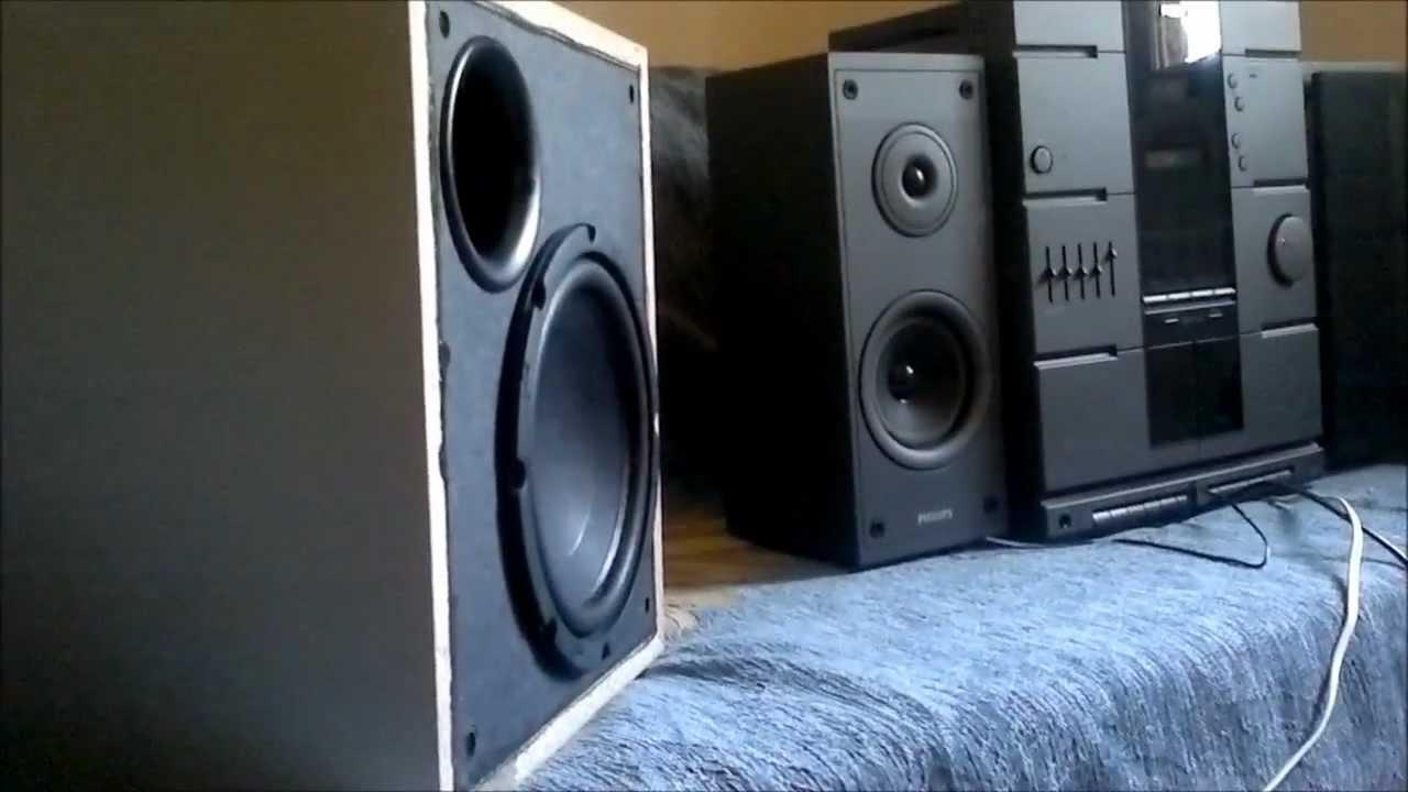 kenwood home theatre powered subwoofer sw-36ht 100 watts rms.. a