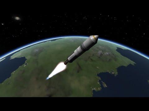 Putting a satellite in orbit with python