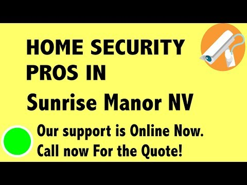 Best Home Security System Companies in Sunrise Manor NV