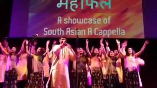 UCLA A Cappella Group Naya Zamana At USC Asli Baat Mehfil 2014