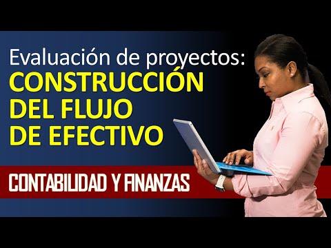 evaluación de proyectos construcción del flujo de efectivo youtube