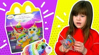 Мегакрутая розпакування іграшок Хеппі міл тіні від Аліси. Happy meal mcdonalds toys ty 2019