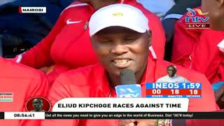 INEOS 1:59 Challenge: Kenyans gather at KICC to support Eliud Kipchoge