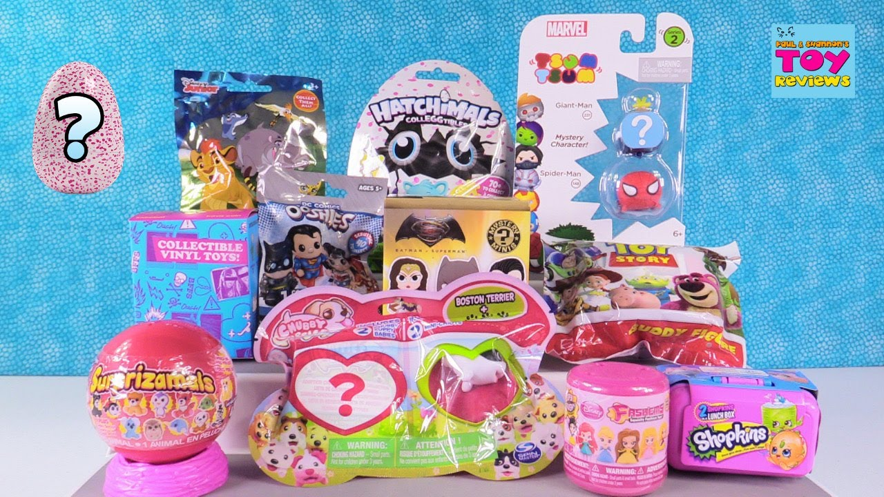 Disney Tsum Tsum Colleggtibles Hatchimals Bffs
