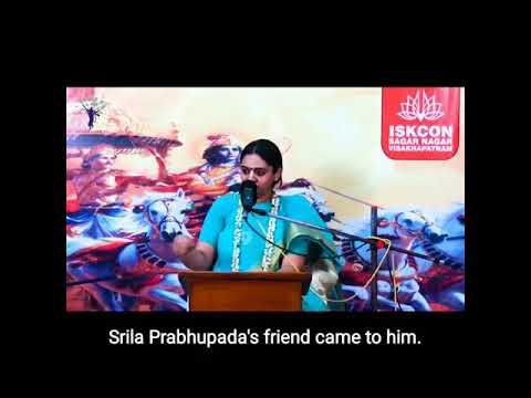 Srila Prabhupad was expert in everything  Nitaisevini Mataji