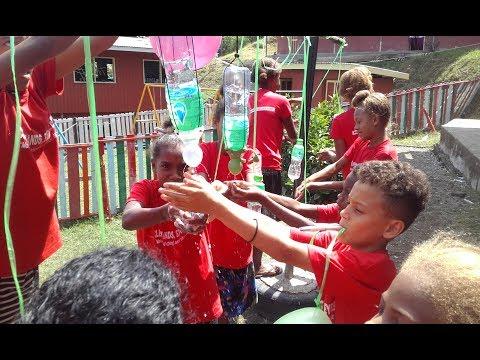 Global Handwashing Day 2017 - SpaTap Portable Tap Visits Vurr School Solomon Islands