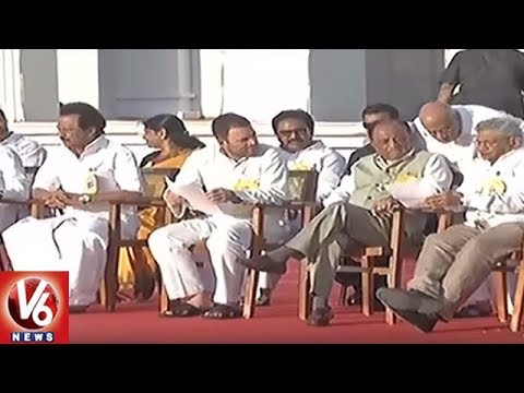 Opposition Parties Hold Meet On Selection Of Presidential Candidate | Vijayawada | V6 News