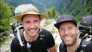 HIKING VLOG #1 Albanian Alps: Theth - Curraj I Epërm - Komani Lake