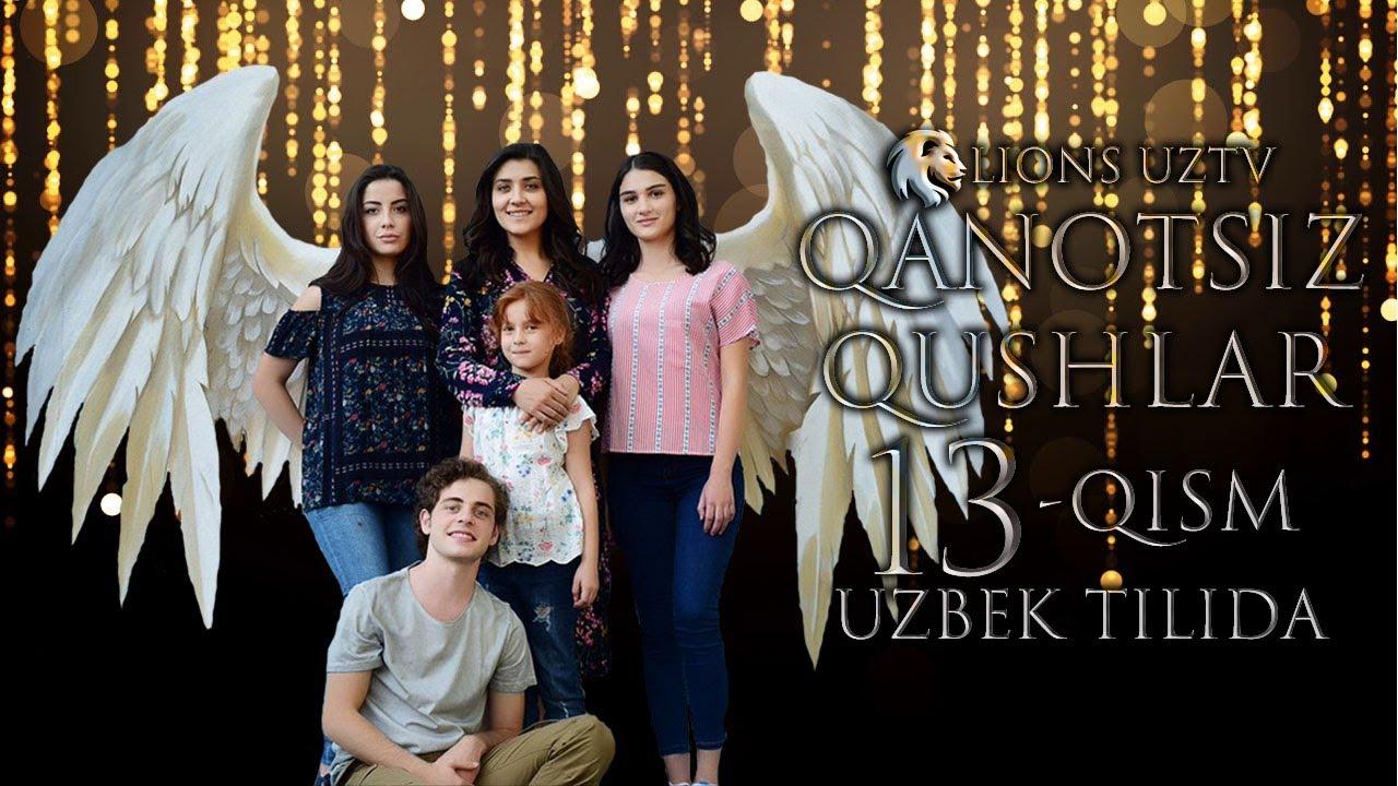QANOTSIZ QUSHLAR 13 QISM TURK SERIALI UZBEK TILIDA | КАНОТСИЗ КУШЛАР 13 КИСМ УЗБЕК ТИЛИДА