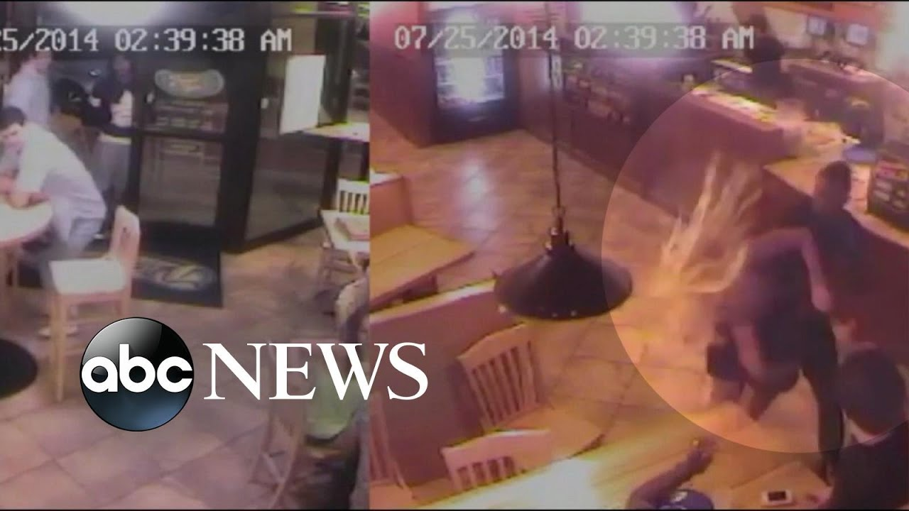 Shocking Surveillance Video Allegedly Shows a Woman Being ...