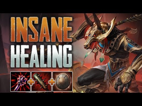 Insane Healing! Set Jungle Gameplay (SMITE Conquest)