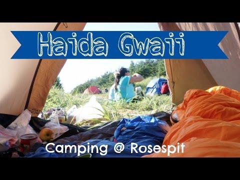 SFU EDUC 452 | Haida Gwaii '14 | Backpack Camping at Rosespit