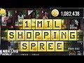 1 MILLION COIN SHOPPING SPREE! | NBA LIVE MOBILE 18 | BIGGEST ON YOUTUBE!! 85 OVERALL TEAM!!
