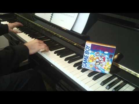 'Muda Kingdom' for 2 HOURS - Super Mario Land, Piano, Hirokazu Tanaka