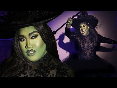 WICKED DEFY GRAVITY ELPHABA MAKEUP TUTORIAL | PatrickStarrr